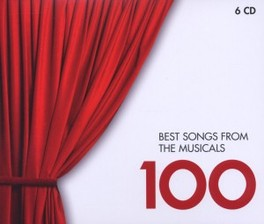100 BEST SONGS FROM THE M V/A, CD