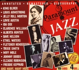 PARAMOUNT JAZZ W/LOUIS ARMSTRONG/ALBERTA HUNTER/KING OLIVER/A.O. Audio CD, V/A, CD