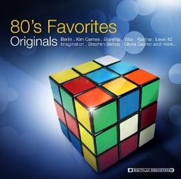 80'S FAVORITES ORIGINALS V/A, CD