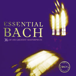 ESSENTIAL BACH -36TR- 36 MASTER PIECES Audio CD, J.S. BACH, CD