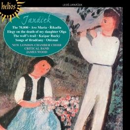 CHORAL MUSIC NEW LONDON CHAMBER CHOIR/J.WOOD L. JANACEK, CD