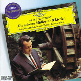 DIE SCHONE MULLERIN -WUNDERLICH/GIESEN Audio CD, F. SCHUBERT, CD