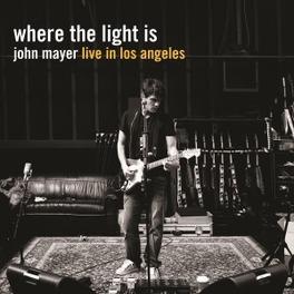 WHERE THE LIGHT IS 180 GRAM AUDIOPHILE PRESSING / DELUXE 4LP SET JOHN MAYER, LP
