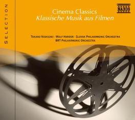 CINEMA CLASSICS STRAUSS/PUCCINI/MOZART/ORFF/CATALANI/LEONCAVALLO/ETC. V/A, CD