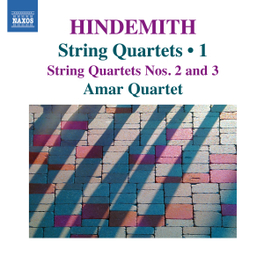 STRING QUARTETS VOL.1 AMAR QUARTET P. HINDEMITH, CD