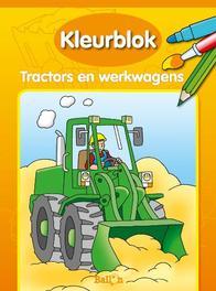 Kleurblok Tractors En Werkwagens