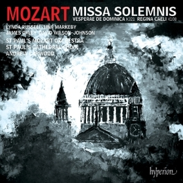MISSA SOLEMNIS/REGINA CAE ST.PAUL'S CATHEDRAL CHOIR & MOZART W.A. MOZART, CD