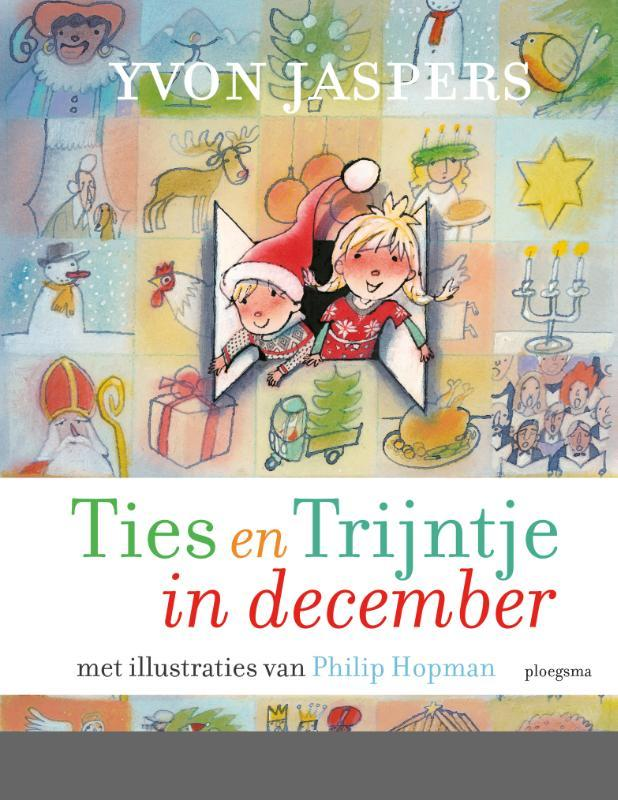 Ties en Trijntje in december Jaspers, Yvon, Hardcover