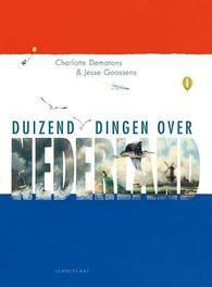 Duizend dingen over Nederland Jesse Goossens, Paperback