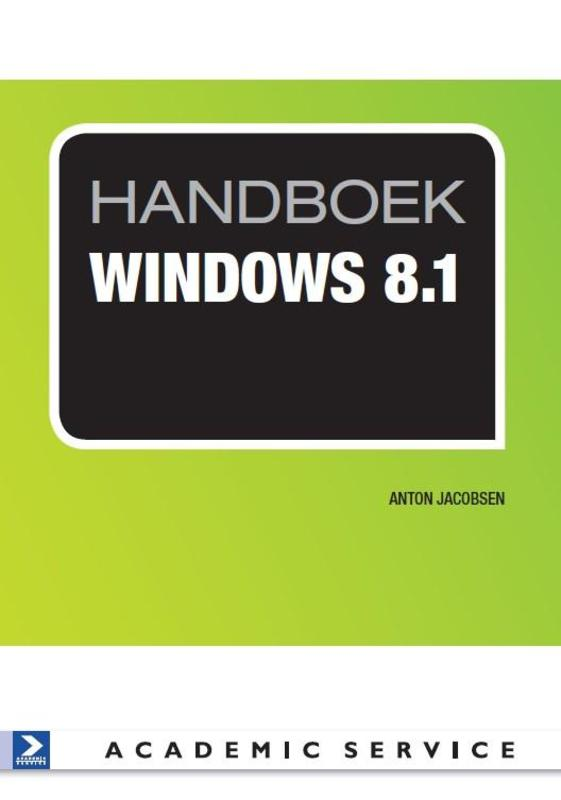 Handboek windows 8.1 Jacobsen, Anton, Paperback