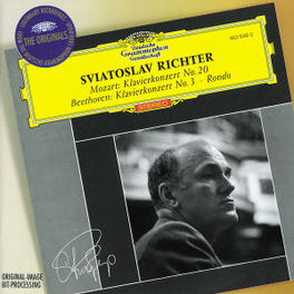 PIANO CONCERTO NO.3/NO.20 W/SVIATOSLAV RICHTER/WIENER SYMPHONIKER/SANDERLING Audio CD, BEETHOVEN/MOZART, CD
