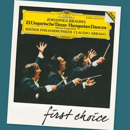 FIRST CHOICE:HUNGARIAN DA WIENER PHILHARMONIKER/CLAUDIO ABBADO J. BRAHMS, CD