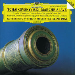 1812/MARCHE SLAVE GOTHENBURG SO/JARVI Audio CD, P.I. TCHAIKOVSKY, CD