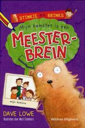 Mijn hamster is een meesterbrein Lowe, Dave, Hardcover