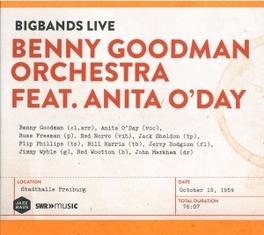 BIGBANDS LIVE-STADTHALLE FREIBURG 15.10.1959 BENNY GOODMAN ORCHESTRA, CD