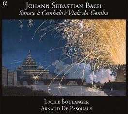 SONATE A CEMBALO E VIOLA LUCILE BOULANGER/ARNAUD DE PASQUALE J.S. BACH, CD