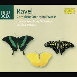 COMPLETE ORCHESTRAL WORKS LONDON S.O. Audio CD, M. RAVEL, CD