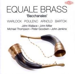 BACCHANALES J.WALLACE/J.MILLER/M.THOMPSON/P.GOODWIN/J.JENKINS Audio CD, EQUALE BRASS, CD