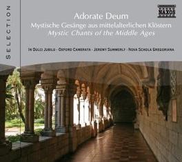 ADORATE DEUM:MYSTIC CHANT V/A, CD