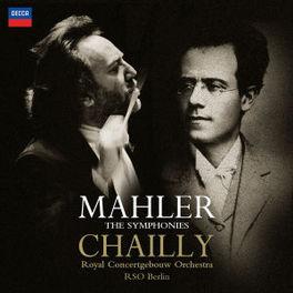 SYMPHONIES *BOX* RSO BERLIN, ROYAL CONCERTGEB.ORCH./ CHAILLY Audio CD, G. MAHLER, CD