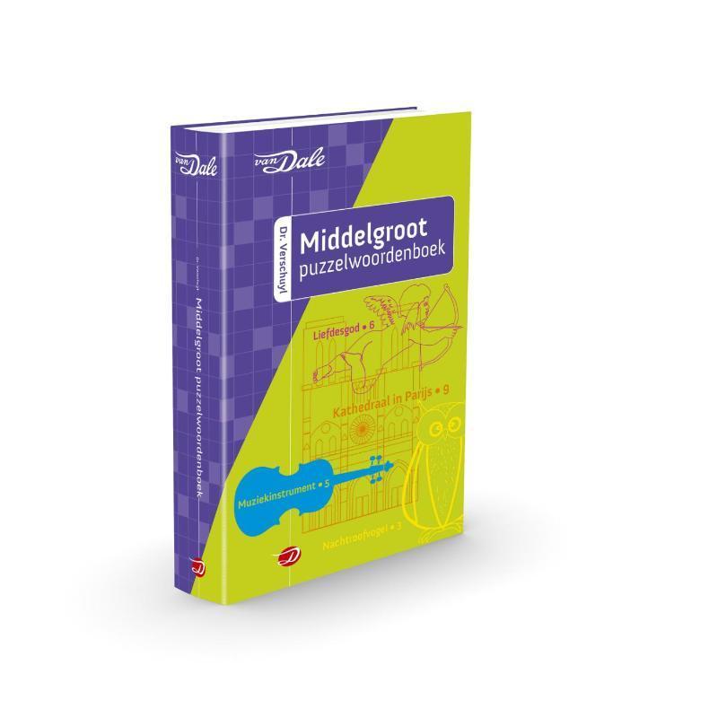 Middelgroot puzzelwoordenboek Verschuyl, H.J., Paperback