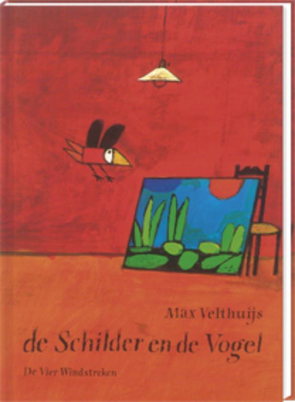 De schilder en de vogel Max Velthuijs, Hardcover