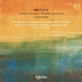 VIOLIN CONCERTO/DOUBLE CO BBC SCOTTISH S.O./I.VOLKOV B. BRITTEN, CD