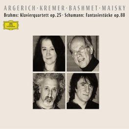 KLAVIERQUARTETT W/MARTHA ARGERICH, GIDON KREMER, BASHMET Audio CD, J. BRAHMS, CD
