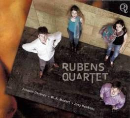 RUBENS QUARTET DESPREZ - MOZART - JOEY ROUKENS RUBENS QUARTET, CD