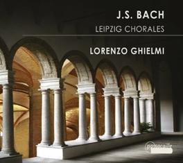 LEIPZIG CHORALES LORENZO GHIELMI Audio CD, J.S. BACH, CD