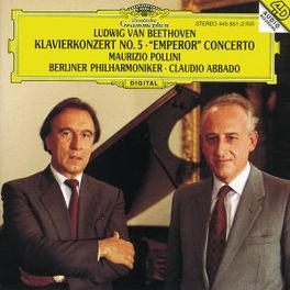 PIANO CONCERTS NO. 5 POLLINI BP ABBADO Audio CD, L. VAN BEETHOVEN, CD