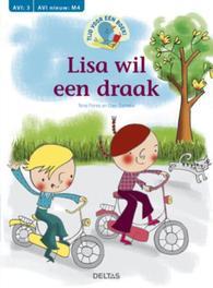 Tijd voor een boek! - Lisa wil een draak - N. Flores en E. Cornelis