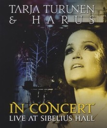 IN CONCERT - LIVE AT.. ..SIBELIUS HALL - BLURAY + CD TARJA TURUNEN, Blu-Ray