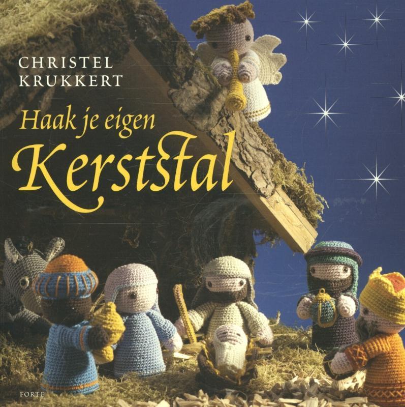 Haak je eigen kerststal Krukkert, Christel, Paperback