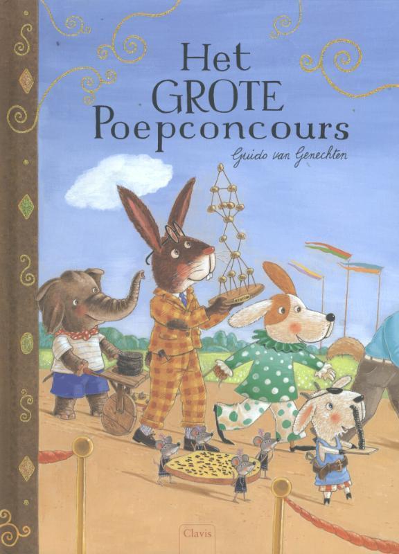 Het grote poepconcours Van Genechten, Guido, Hardcover