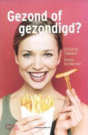 Gezond of gezondigd? Christine Tobback, Paperback