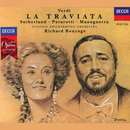 LA TRAVIATA -ITA- NAPO/BONYNGE Audio CD, G. VERDI, CD