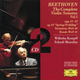 VIOLINSONATEN VOL.1 W/WILHELM KEMPFF, YEHUDI MENUHIN Audio CD, L. VAN BEETHOVEN, CD