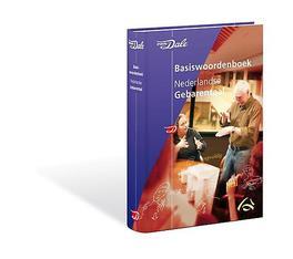 Van Dale Basiswoordenboek Nederlandse Gebarentaal Hardcover