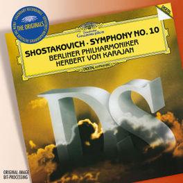SYMPHONY NO.10 BERLINER PHILHARMONIKER/HERBERT VON KARAJAN Audio CD, D. SHOSTAKOVICH, CD