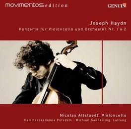 CELLO CONCERTOS NO.1 & 2 KAMMERAKADEMIE POTSDAM/M.SANDERLING Audio CD, J. HAYDN, CD