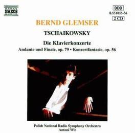 TCHAIKOVSKY BERND GLEMSER P.I. TCHAIKOVSKY, CD