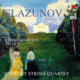 COMPLETE STRING QUARTETS UTRECHT STRING QUARTET A. GLAZUNOV, CD