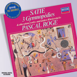 PIANO MUSIC W/PASCAL ROGE (3 GYMN./6 GNOSS.) Audio CD, E. SATIE, CD