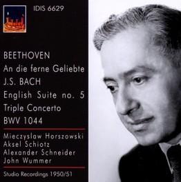 AN DIE FERNE GELIEBTE M.HORSZOWSKI/A.SCHIOTZ/A.SCHNEIDER BEETHOVEN/BACH, CD