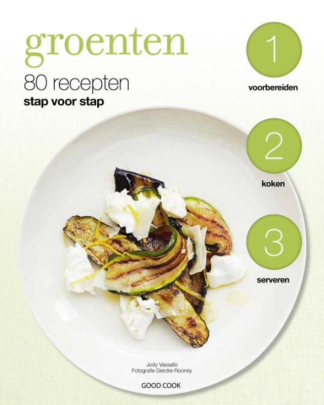 Groenten 80 recepten stap voor stap, Molly Brown, Paperback