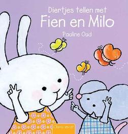 Diertjes tellen met Fien en Milo Pauline Oud, Hardcover