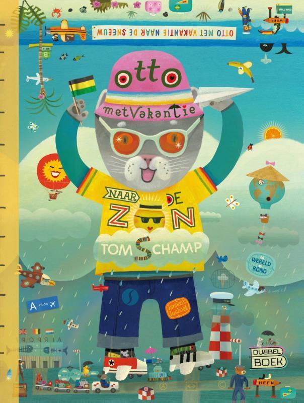 Otto met vakantie naar de zon Otto met vakantie naar de sneeuw dubbelboek, Schamp, Tom, Hardcover