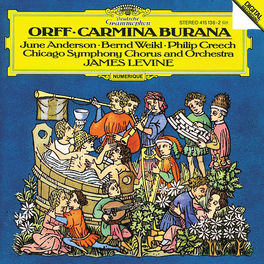 CARMINA BURANA CSO/LEVINE/JUNE ANDERSON/BERND WEIKL/CREECH Audio CD, C. ORFF, CD