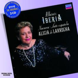 IBERIA ALICIA DE LARROCHA Audio CD, I. ALBENIZ, CD